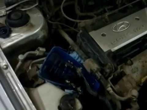 Замена жидкости ГУР Hyundai Accent