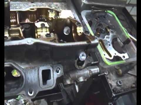 Дефектовка мотора Lexus RX350