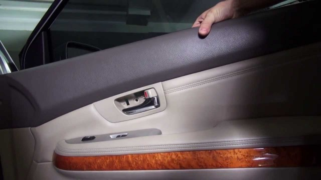 Снятие обшивки двери Lexus RX 350