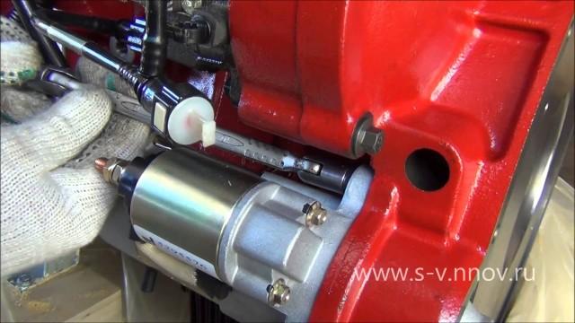 Снятие стартера на двигателе Cummins ISF 2.8L Газель Бизнес