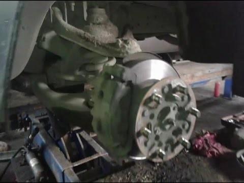 Замена передних тормозных колодок Газель Next