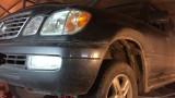Замена салонного фильтра Lexus LX 470