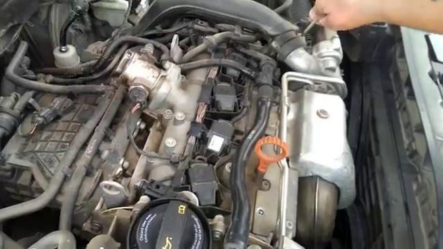 Замена свечей Audi A3