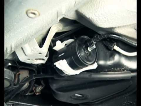 Замена топливного фильтра Forza / Chery A13