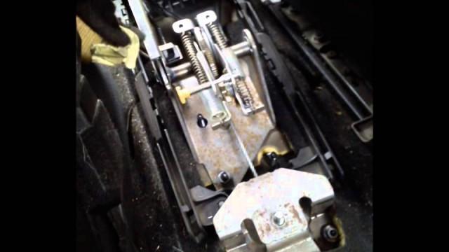Замена тросов ручника Peugeot 407
