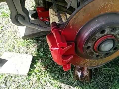 Замена задних стоек стабилизатора Peugeot 407