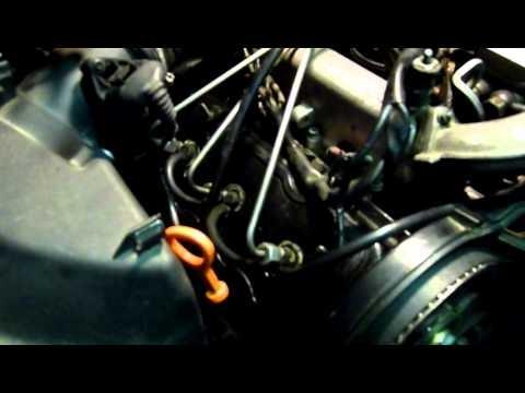 Удаление воздуха из топливной системы Audi A6