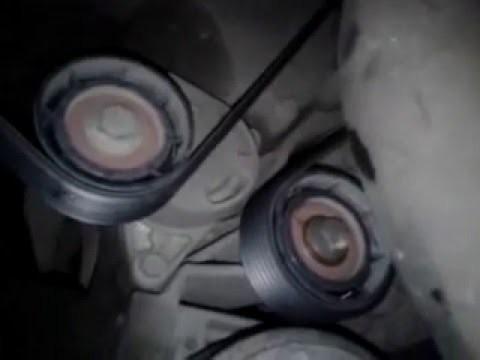 Замена ремня генератора Renault Master