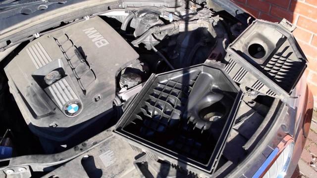 Замена воздушного фильтра BMW X3 F25
