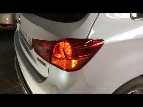 Замена заднего фонаря Mitsubishi ASX