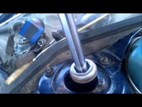 Замена амортизаторов Audi 100 C3
