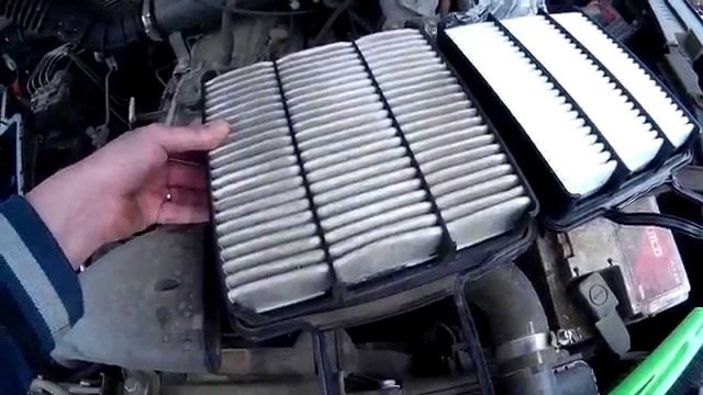 Замена воздушного фильтра Great Wall Hover H5(бензин)