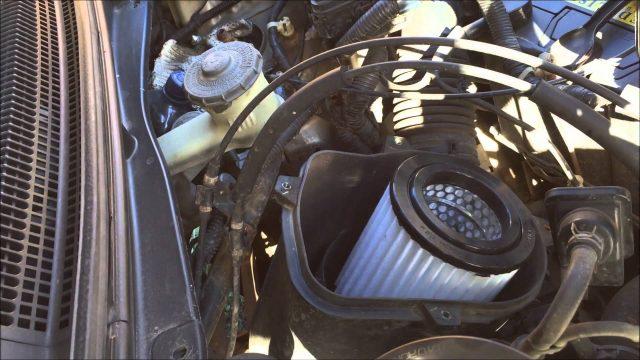 Замена воздушного фильтра Honda Element