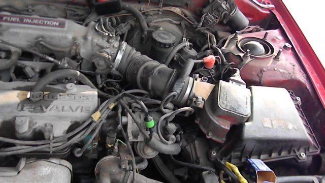 Замена температурного датчика Mazda 626