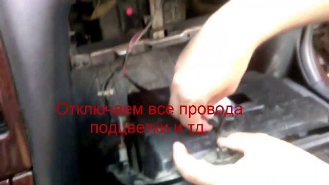 Заменить салонный фильтр Nissan Maxima