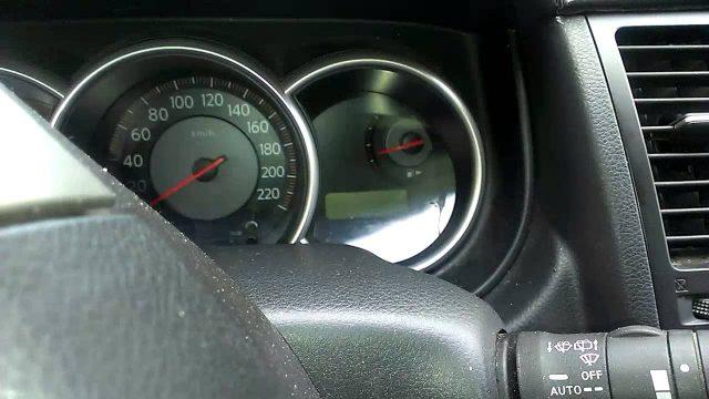 Сброс ошибки AIRBAG Nissan Tiida