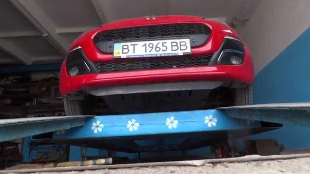 Замена масла Peugeot 107