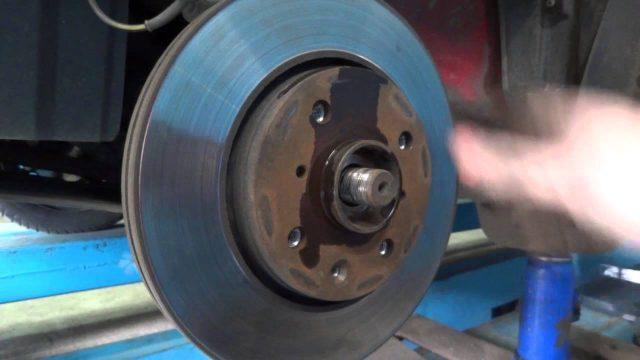 Замена подшипника передней ступицы Peugeot 107