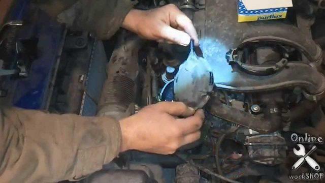 Замена топливного фильтра Peugeot Partner