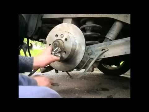 Замена тормозных колодок Renault Espace