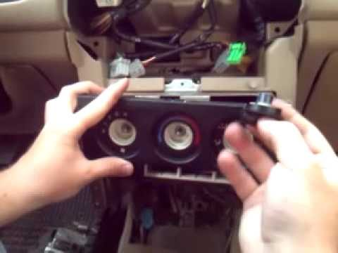 Разборка приборной панели Rover 416