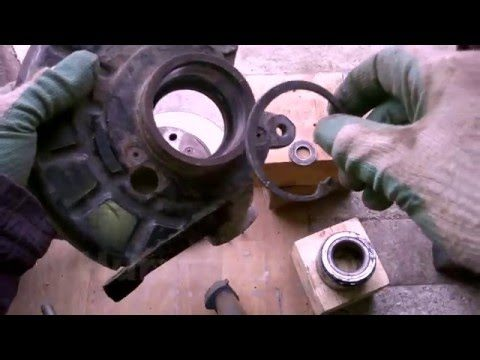 Замена подшипника ступицы переднего колеса Skoda Felicia