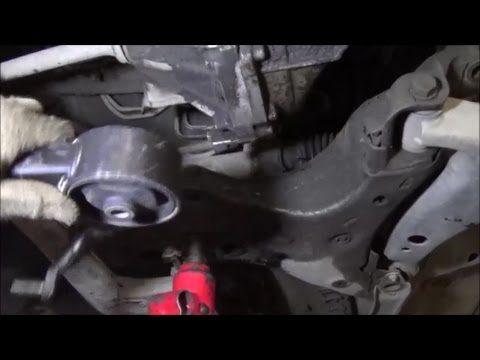 Замена задней подушки двигателя Toyota Corona