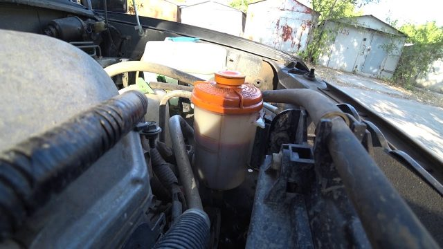 Замена жидкости ГУР Suzuki Jimny