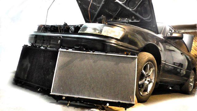 Как поменять радиатор Toyota Vista