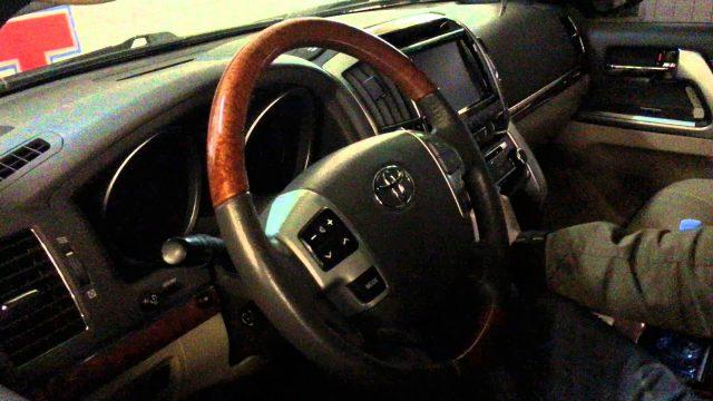 Замена топливного фильтра Toyota Land Cruiser 200