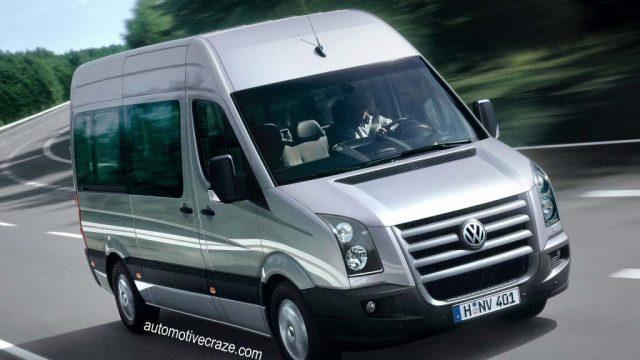 Замена масла, топливного и воздушного фильтра Volkswagen Crafter