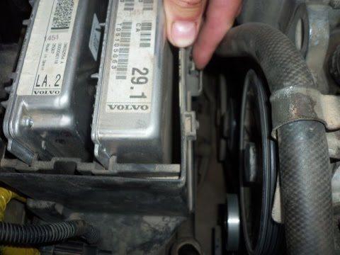 Замена ламп головного света Volvo S60