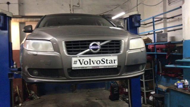 Замена сайлентблоков передней подвески Volvo S80