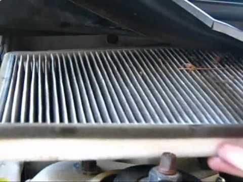 Замена салонного фильтр Volvo V70