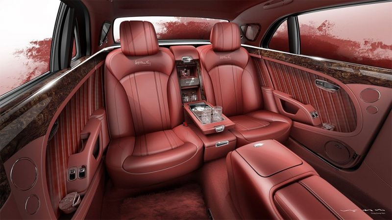 Спецверсия  Bentley Mulsanne получила деталь 1930 года