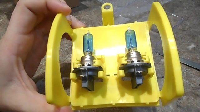 Замена лампочек в противотуманных фарах Daewoo Gentra