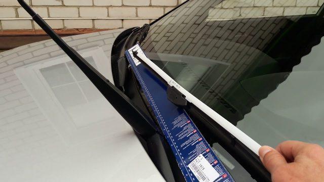 Замена щёток стеклоочистителя Hyundai Creta