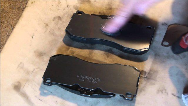 Замена тормозных колодок BMW E81