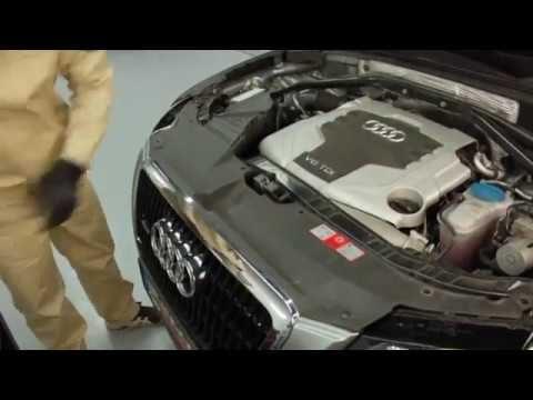 Снятие фар Audi Q5