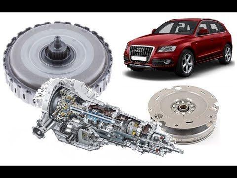 Снятие коробки передач Audi Q5