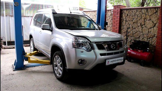 Замена масла в вариаторе Nissan X-Trail
