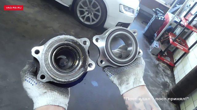 Замена переднего ступичного подшипника Audi Q5