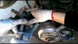 Замена тормозных колодок Audi Q5