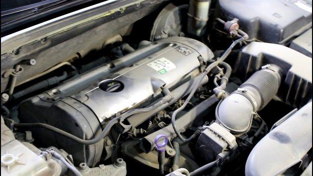 Замена масла Peugeot 407