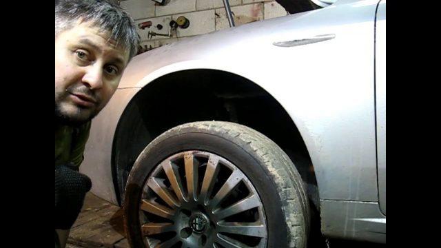 Замена ступичного подшипника Alfa Romeo 159