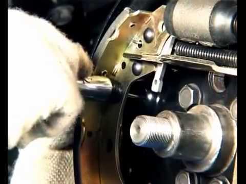 Замена задних тормозных колодок Chery Bonus A13