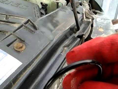 Замена термостата Chevrolet Blazer