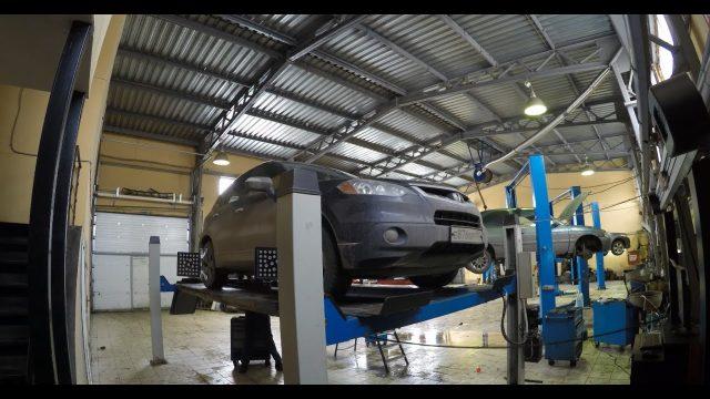 Замена задних пружин Acura RDX