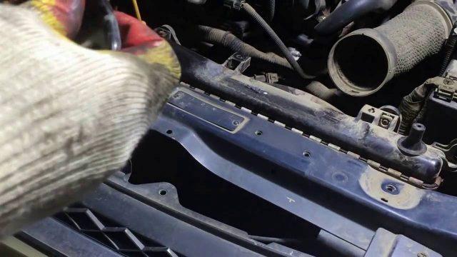 Замена радиатора охлаждения Chevrolet Epica