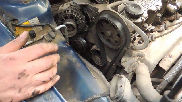 Замена генератора Daewoo Espero